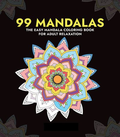 99 Mandalas Adult Coloring Book