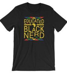 Black Nerd Tee