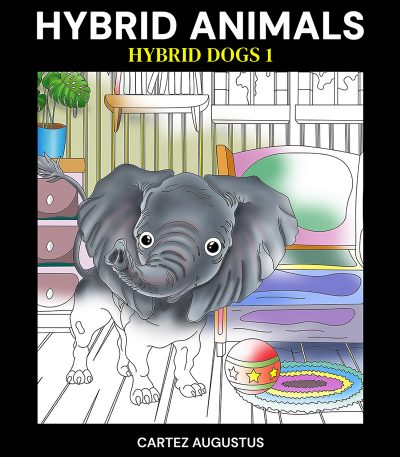 Hybrid Dogs Hybrid Animals Coloring Book 2