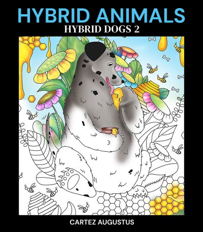 Hybrid Dogs Hybrid Animals Coloring Book 1